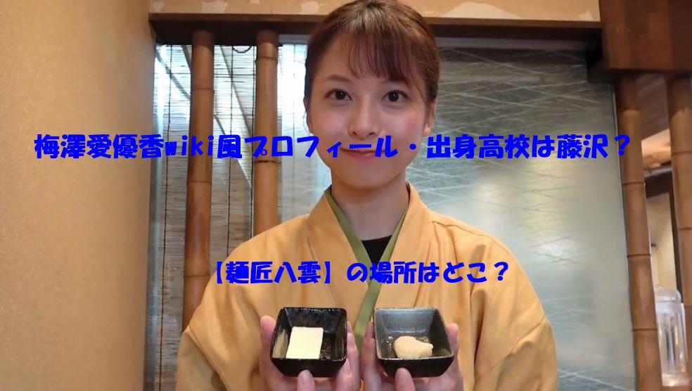 梅澤愛優香 wiki プロフィール 高校
